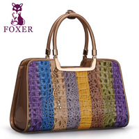 Wolsey 2013 women's handbag fashion cowhide handbag fashion crocodile pattern women's bags