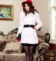 2014 new design fashional cotton down plus size women coat, down coat jacket women,down jacket woman free shipping238
