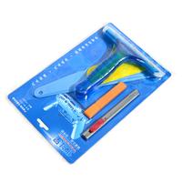 free shipping  5pcs set car care Carbon Fiber Vinyl Film Scraper tools Car Squeegee Hand Tools car wrapping tools set