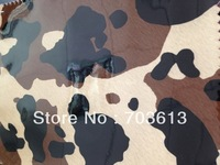 "wholesale and retail pvc artificial leather high quality Camouflage leather 1.2mm*52""+-0.05 2018#"