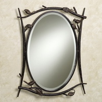 Fashion iron bathroom mirror makeup mirror dressing mirror