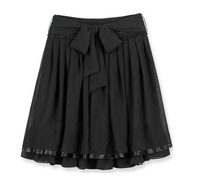 New Womens Ladies Pleated Skirt Chiffon Skirt #FZ012