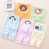 2013 PP baby big pants spring and autumn cotton 100% style pants male trousers child trousers long johns legging