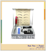 Pro Permanent Makeup Kit Eyebrow Makeup machine/Power/needles