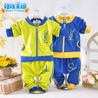Children's clothing male female child autumn child 2013 child sports set male child set child clothes