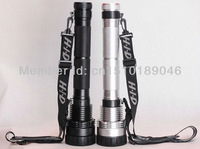 Super Bright 8500LM 85W 8700mAh HID Flashlight Xenon SOS Torch Spotlight Light Lamp Lantern Camping Hiking Hunting Silver