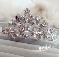 Fashion hair accessory fashion big wedding the bride hair accessory princess hair accessory wedding accessories