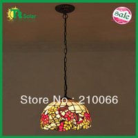 Tiffany Pendant Lamp European Pastoral Style Dragonfly  Lamp For Bedroom,Coffee shop 2pieces/lot Free Shipping