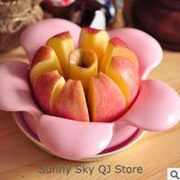 Flower Shape Apple Cut/Stainless Steel Apple Cut,Fruit Cut/Fruit Slicer~