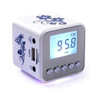 Tt-032a mini card small speaker audio radio music player