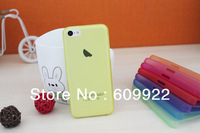20pcs/lot 0.3mm New arrival Thin Plastic case Anti-glare Back cover Case for iphone5C iphone 5C Via CP