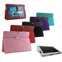 Free Shipping Leather Case Cover Skin Stand For Samsung Galaxy Tab 2 10.1 P5100 P5110 P5113