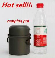 Brand Folding Pans Cooking Pots Super Light 200g Outdoor Pot Bowl Set 1 Single People  Camping Pan CW-S06