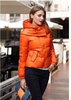 2014Autumn Plus Size Women's Jackets Large Size  Woman Hooded Outwear Turn Down Collar Mother's Coat 259