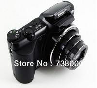 "Free Shipping,16Mp CCD Sensor Mini DSLR Camera Digital Camera with 24X Optical Zoom 5X Digital Zoom 3"" Screen Russian language"
