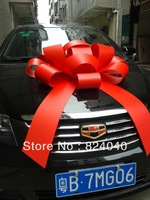 "FREE SHIPPING! 30"" Red Gift Bow,Chrismtas Bow,Wedding Car Bow,Magnetic car bow,Party Decorations,Holiday Bow,Gift Wrapping Bow"