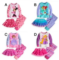 Wholesale,Free shipping 2013 New,100% cotton kids clothing set,T-shirt+skirt+pant,girls summer clothing,baby girls,girls sets