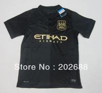 2013-14 new season free shipping manchest city football club away football jersey.