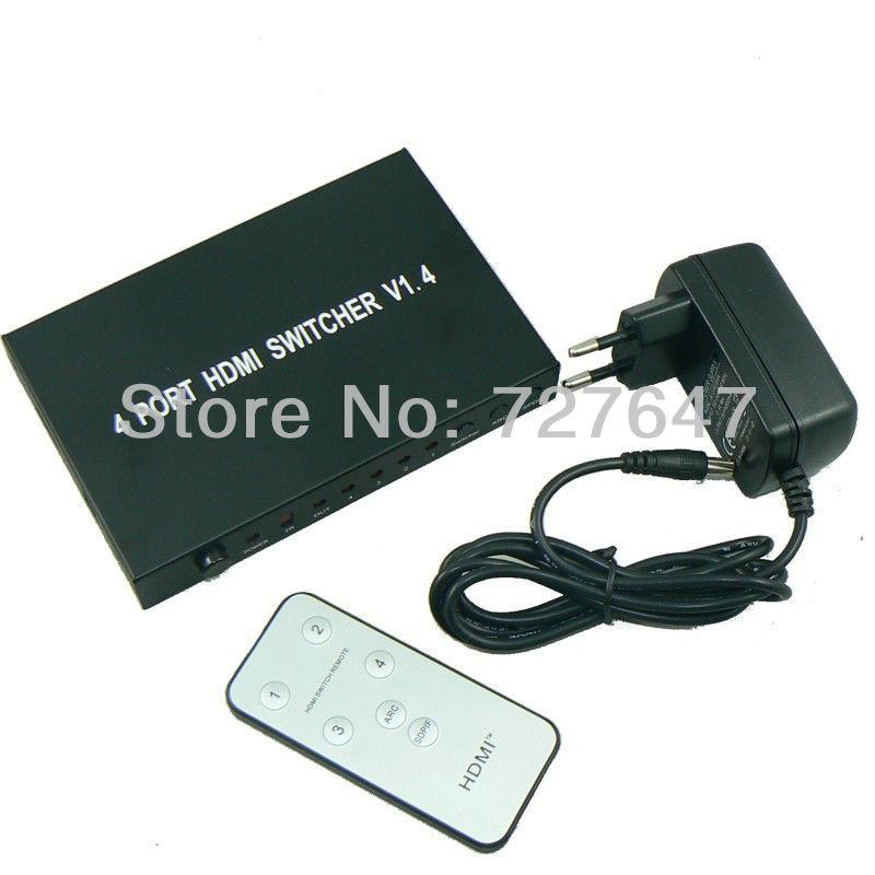 HDMI 1080p HDMI 1.4 HDMI 4 x 1 v1.4 HDMI HDTV домашний кинотеатр protech 4 x 4 hdmi hdmi pet0404