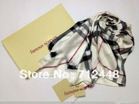 2014 Famous brand scarves free shipping men and women best selling brand neck scarf