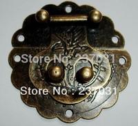 Antique accessories/antique box buckle lock box/bird clasp 6 cm