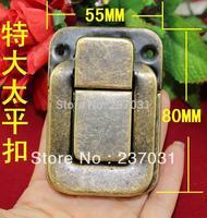 80 * 55 mm oversized taiping box buckle/antique buckles/iron buckle lock/green bronze box
