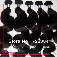 "1 pcs 5A Brazilian Hair virgin body wave hair extensions 10"" to 26"" available"