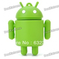 Cute Google Android Robot Style USB Flash/Jump Drive - Green (4GB)  Free Delivery
