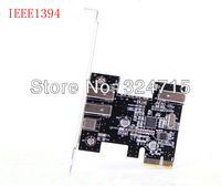 ,Free Shipping 5pcs/lot 4 3+1 Port 1394 1394a FireWire 400 to PCI-E PCI Express Card Adapter Converter VIA VT6315 Chipset