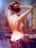 Free Shipping!!! The Mangnolia, Huge Modern Oil Painting On Canvas Wall Art, Top Home Decoration female nudes backgrounds