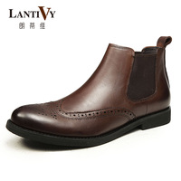 Lantivy men's boots male boots the trend of casual bullock chelsea boots l13s046a