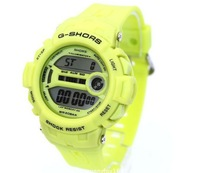Free shipping new 2013 Four key silica gel the sports leisure brand electronic watch men watch children's watch