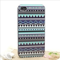 Free shipping new arrval national style back cover for apple iphone4 i Phone 4s hard case