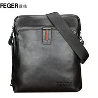 Feger man bag male messenger bag cowhide backpack fashionable business bag