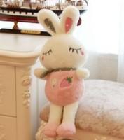 Free shipping rabbit plush doll Love rabbit Squinting rabbit soft stuffed toy 70cm size Christmas gift