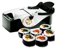 Easy Sushi Maker Roller equipment, perfect roll, Roll-Sushi with color box black color HG103