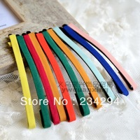 brief multicolour fabric small hair pin side-knotted clip bb clip
