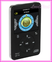 2013 New Muslim MP4 Player with Screen Quran Reader Holy quran EQ509 Al Koran al Karim Koran player MP3 4 Free ship by DHL 10pcs