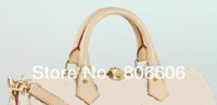 Free Shipping Lady Luxury White Azur Handbag N41000 N41001 N41002 Speedy bandouliere 25 30 35 Women Bag