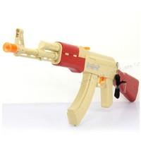 Electric toy gun electric gun luminous ak-47 vocalization vibration flash boy