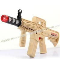 Electric toy gun electric gun luminous m-16 vocalization submachinegun vibration boy toy