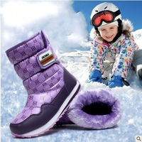free shipping Jin Zunbao winter boots with child snow boots  plus wool warm boots girls shoes big cotton-padded shoes snow boots