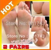 Hot! 5 pairs=10pcs/lot free shipping exfoliating foot mask Remove beriberi and callosity feet sox foot health care