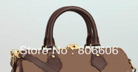 Free Shipping Lady Luxury Brown Ebene Handbag N41181 N41183 N41182 Speedy bandouliere 25 30 35 Women Bag