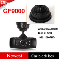 2013 Newest Car DVR Camera GF9000 A5 with Ambarella A5S50 + G-Sensor + WDR + Full HD 1920*1080P 60FPS