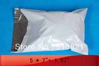 """200pcs- 5"""" x 7"""" 12.7cm x 17.8cm+4cm POLY MAILER BAGS ENVELOPE"""