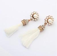Min.order is $15(mix order)Wholesale New arrival jewelry,Fashion Tassel Earrings,Stud Earrings