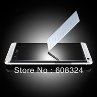 For HTC ONE M7 Tempered Screen protector , with retail packaging 100pcs/LOT
