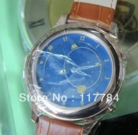 New watch male table double movement multifunction sides wear men's watches automatic mechanical watch belt