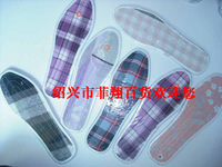 Cotton cloth insoles single insole antiperspirant shock absorption sweat absorbing anti-odor insole leather insole